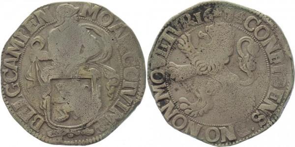 Niederlande Löwentaler 1684 Kampen Stadt