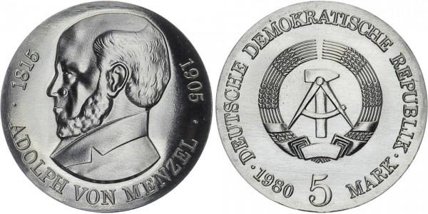 DDR 5 Mark 1980 A von Menzel