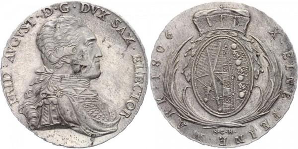 Sachsen Taler 1806 - Friedrich August III. (1763 - 1806)