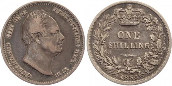 England 1 Shilling 1836 - William IV.
