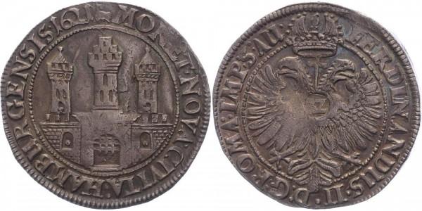 Hamburg, Stadt Reichstaler = 32 Schilling 1621 Ferdinand II.