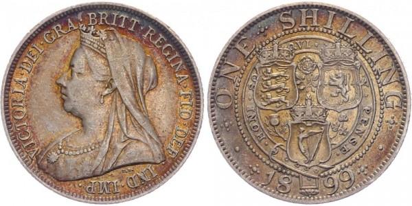 Großbritannien Shilling 1899 - Queen Victoria 1837-1901