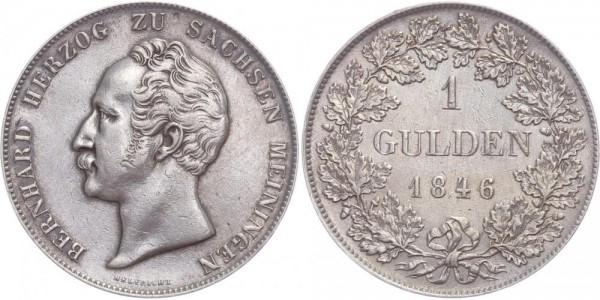 Sachsen-Meiningen 1 Gulden 1846 - Bernhard