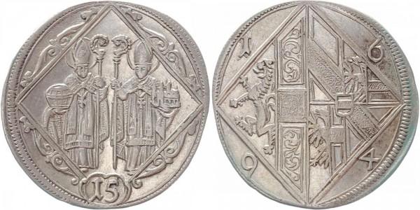 Salzburg 15 Kreuzer 1694 - Johann Ernst von Thun und Hohenstein