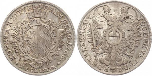 Nürnberg 1 Thaler 1768 - Stadtwappen