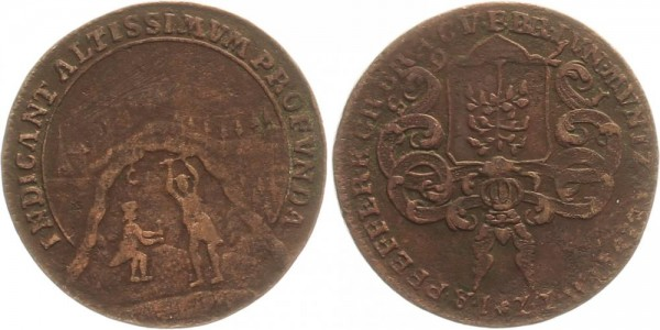Harz 1 Reichpfennig 1765 Zellerfeld Kursmünze