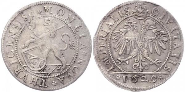 Schweiz Dicken 1629 Zürich Stadt & Kanton