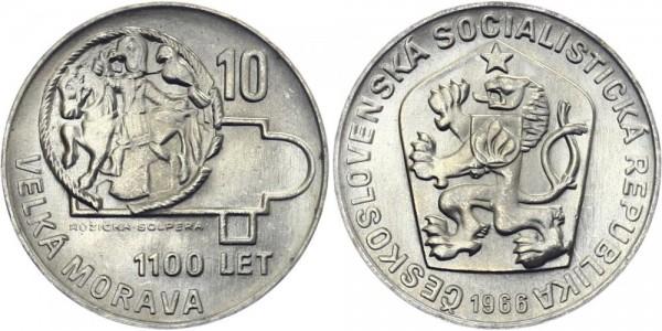 CSSR 10 Kč 1966 - Groß Mären