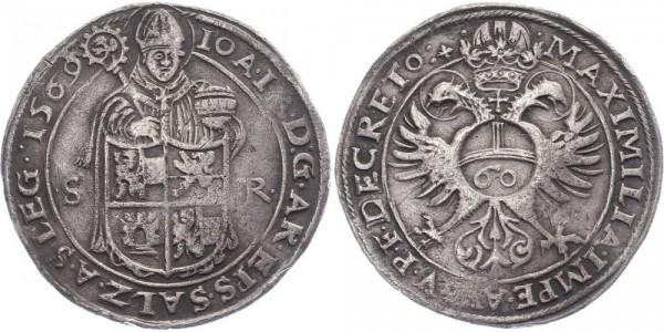 Salzburg Guldentaler 1569 - Johann Jakob Khuen von Belasi