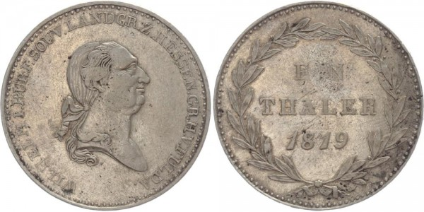 Hessen 1 Taler 1819 - Wilhelm I.