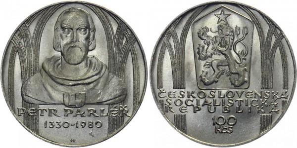 CSSR 100 Kč 1980 - Petr Parler