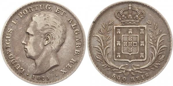 Portugal 500 Reis 1875 - Luiz I.