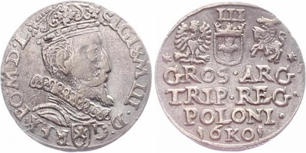 Polen 3 Groschen 1601 - Sigismund III. 1587-1632