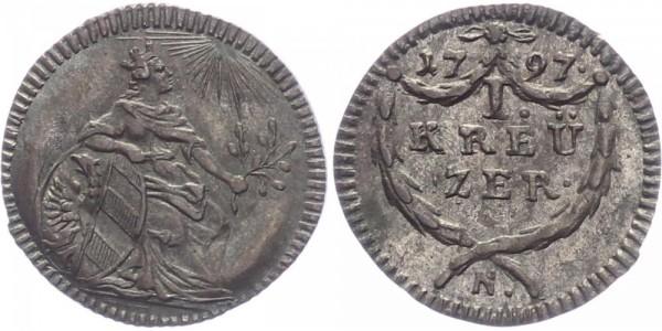 Nürnberg 1 Kreuzer 1797 - Stadt