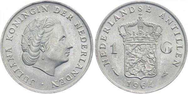 Niederländische Antillen 1 Gulden 1964 - Kursmünze