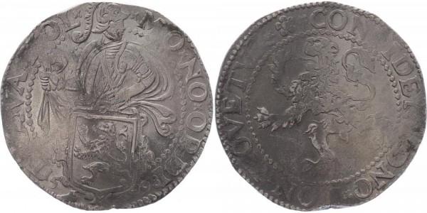 Niederlande Löwentaler 1598 Holland Provinz