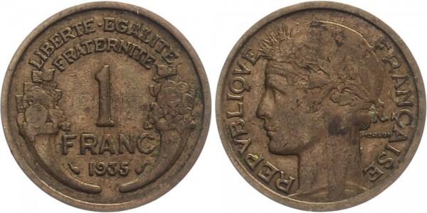 Frankreich 1 Franc 1935