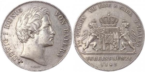 Bayern Doppeltaler 1845 - Ludwig I.