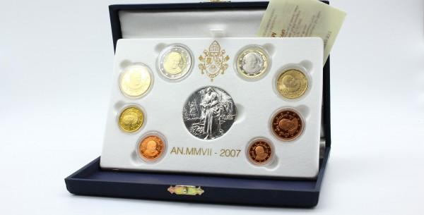 Vatikan 3,88 2007 - Kursmünzensatz