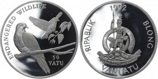 Vanuatu 50 Vatu 1992 - Vögel