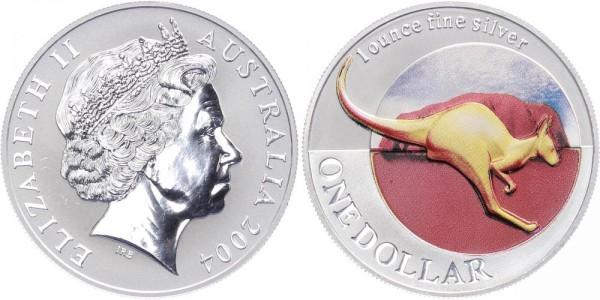 Australien 1 Dollar 2004 - Känguru