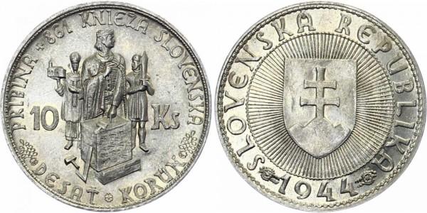 Slowakei 10 Ks 1944 - Prinz Pribina