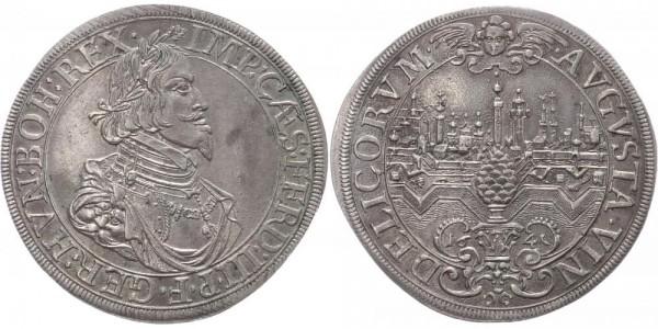 Augsburg Taler 1641 - Ferdinand III., Stadtansicht