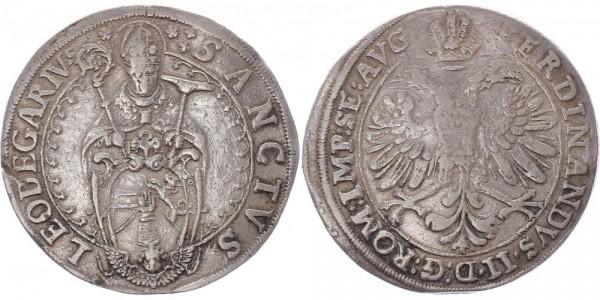 Murbach und Lüders Taler o.J. Elsass, Frankreich Leopold Wilhelm v. Österreich