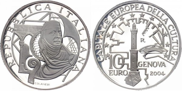 Italien 10 Euro 2004 - Genova