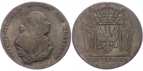 Preussen Taler 1797 A Friedrich Wilhelm II., 1786-1797