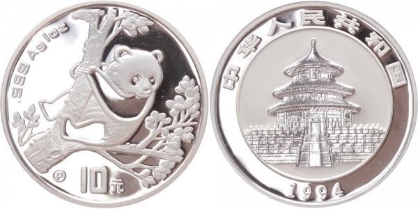 China 10 Yuan 1994 - Panda