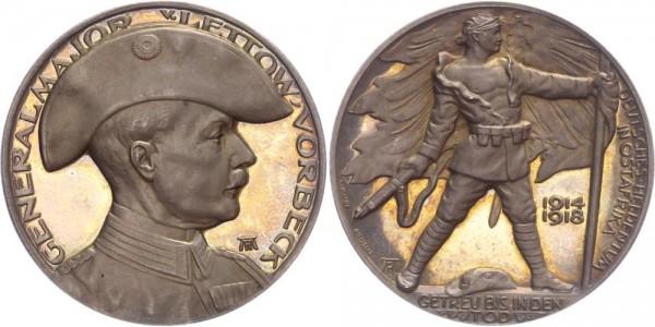 Deutsch-Ostafrika Medaille 1918 - Getreu bis in den Tod