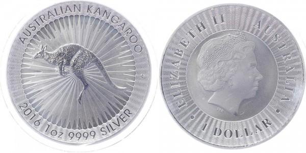 Australien 1 Dollar 2016 - Kangaroo