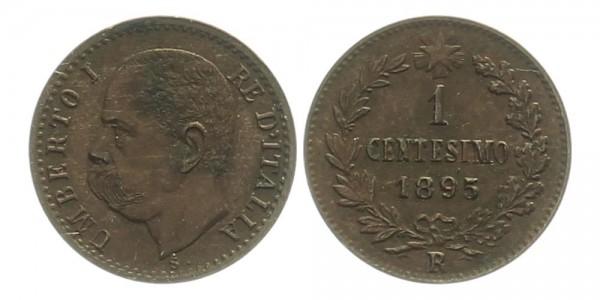 Italien 1 Centesimo 1895 - Umberto I.