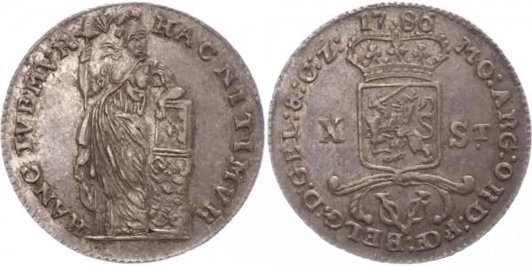 Niederlande 10 Stuivers 1786 - Ostindien