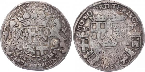 Niederlande 30 Stüber 1685 Utrecht