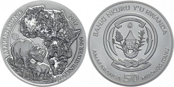 Ruanda 50 Itanu 2012 - Nashorn