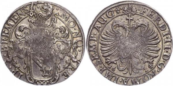 Bremen Reichstaler 1624 - Mit Titel Ferdinands II.