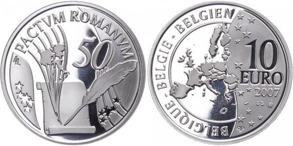 Belgien 10 Euro 2007 - 50 Jahre römische Verträge