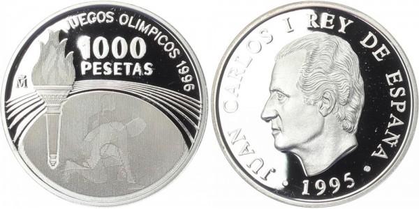 Spanien 1000 Pesetas 1995 - Olympische Sommerspiele, Juan Carlos