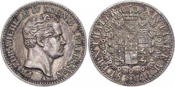 Preußen 1 Taler 1841 A Friedrich Wilhelm IV