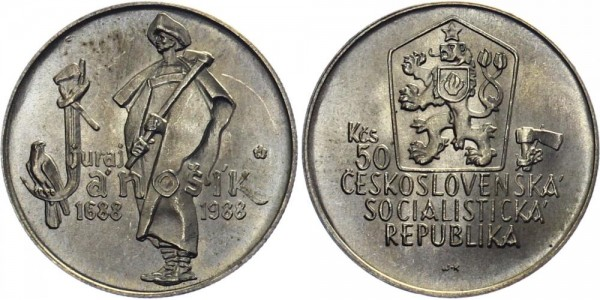 CSSR 50 Kč 1988 - Juraj Janosik