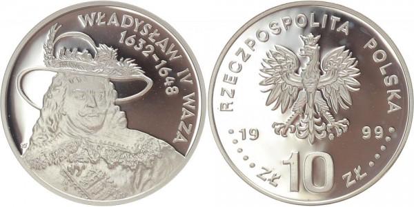 Polen 10 Zloty 1999 - Wladyslaw IV Waza