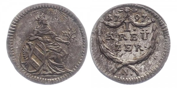 Nürnberg 1 Kreuzer 1797