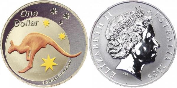 Australien 1 Dollar 2005 - Kangaroo