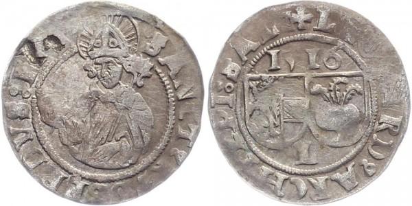 Salzburg Batzen 1516 - Leonhard v. Keutschach, 1495-1516