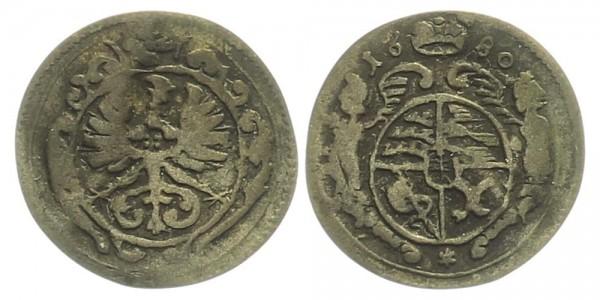 Schlesien 1 Groschen 1680