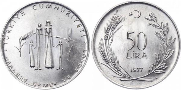 Türkei 50 Lira 1977 - FAO