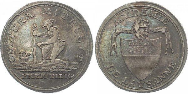 Schweiz Medaille o.J. - Academie de Lausanne