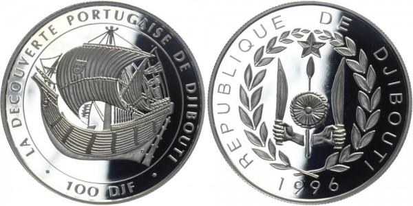 DSCHIBUTI 100 DJF 1996 - Erkundung Dschibuti´s durch die Portugiesen